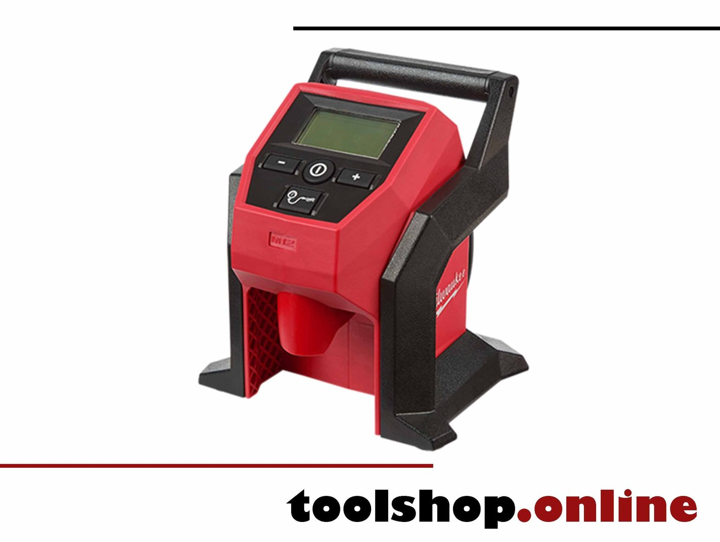 milwaukee-kompetenzhändler: 4933464124 m12 bi 0 akku-kompressor kaufen