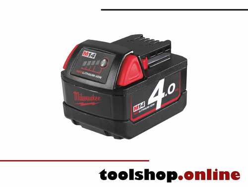Milwaukee M14 B4 14V Li-Ion Akku 4.0 Ah 4932430323