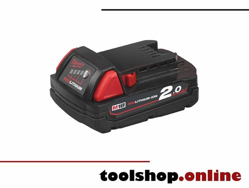 Milwaukee M18 B2 18V Li-Ion Akku 2.0 Ah 4932430062