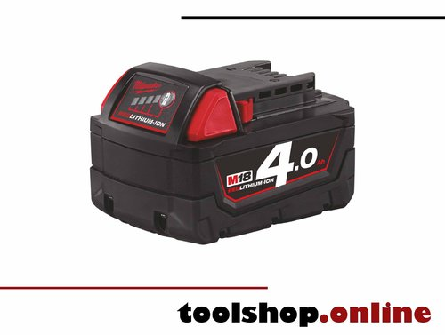 Milwaukee M18 B4 18V Li-Ion Akku 4.0 Ah 4932430063