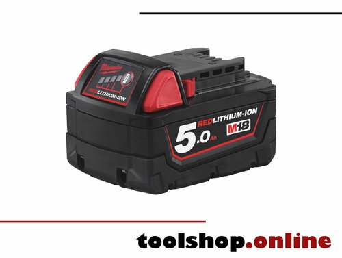 Milwaukee M18 B5 18V Li-Ion Akku 5.0 Ah 4932430483